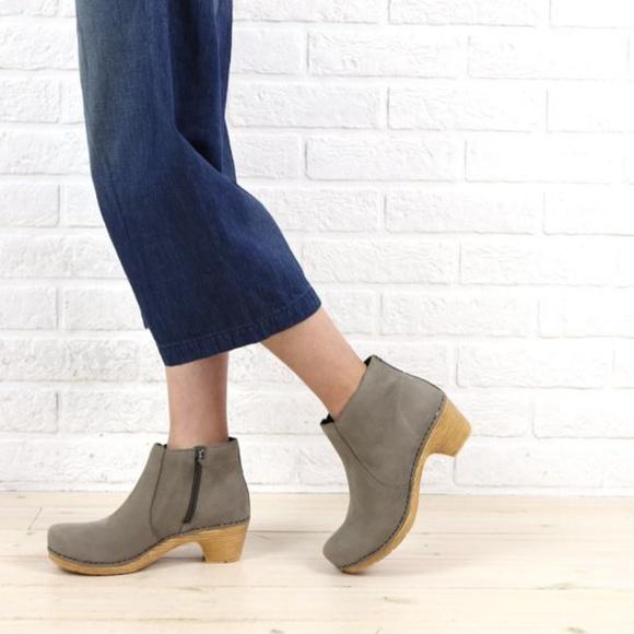 9c73c42300e5 Dansko Shoes - Dansko Maria nubuck ankle olive green boots